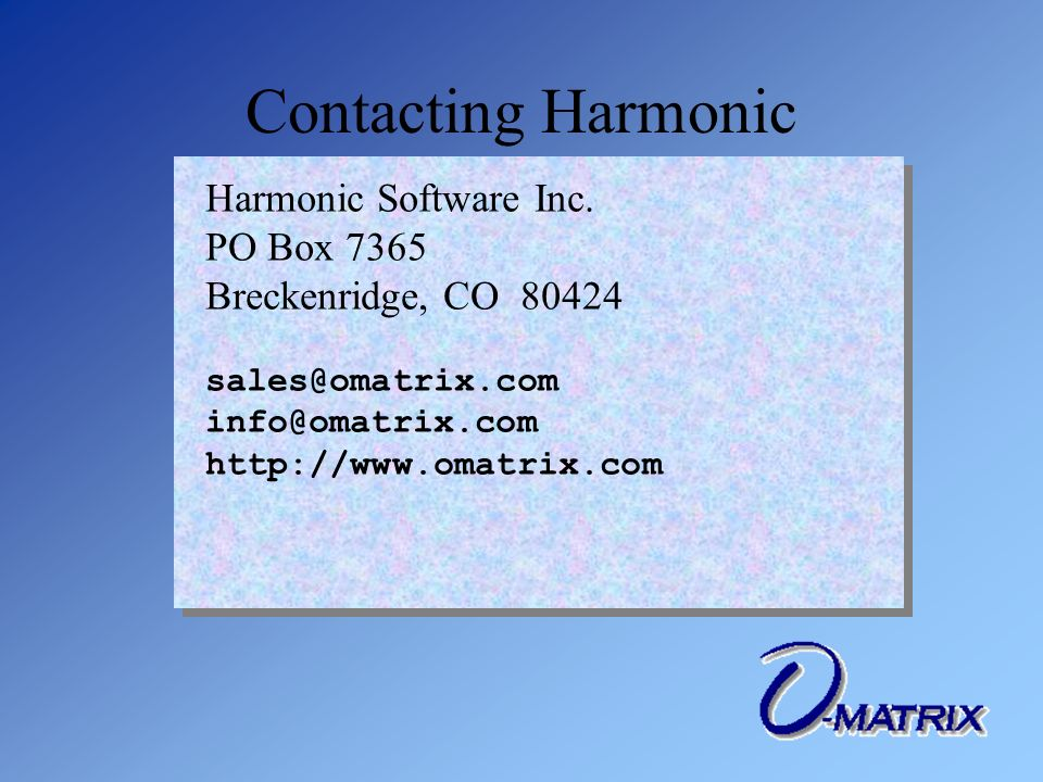 Harmonic Software Inc.