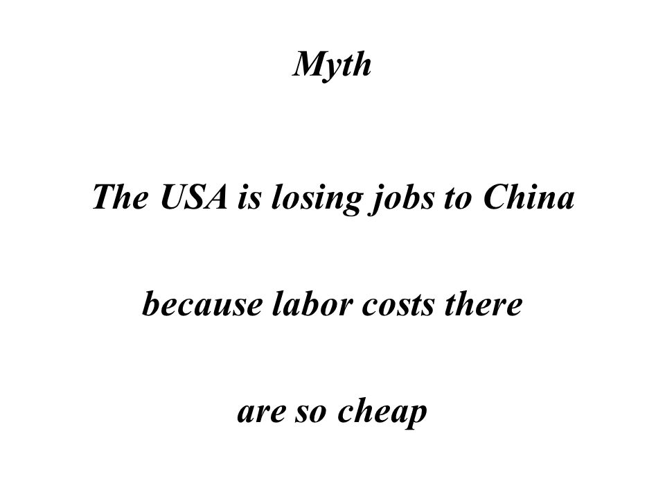 Reality The USA is a badly taxed country because we tax jobs and investment higher than almost any other country