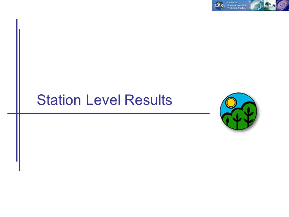Station Level Results