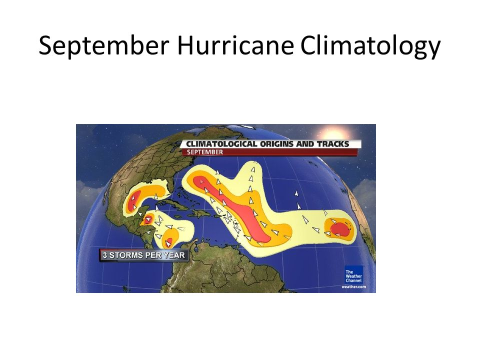 September Hurricane Climatology