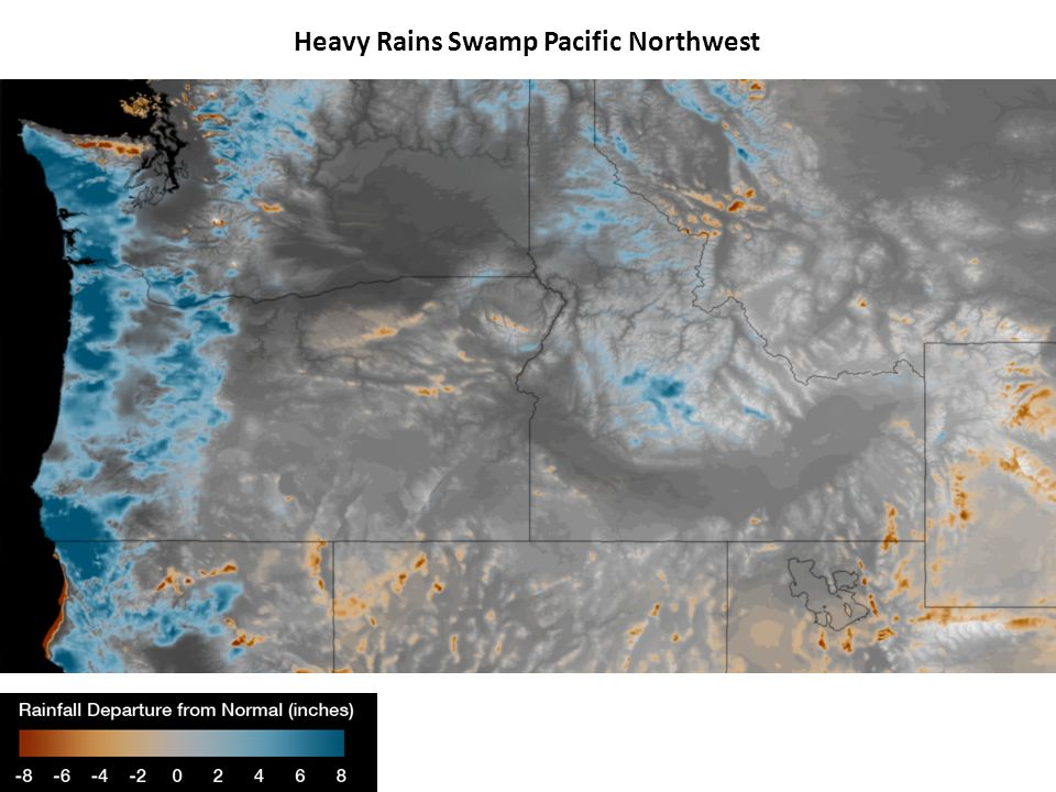 Heavy Rains Swamp Pacific Northwest