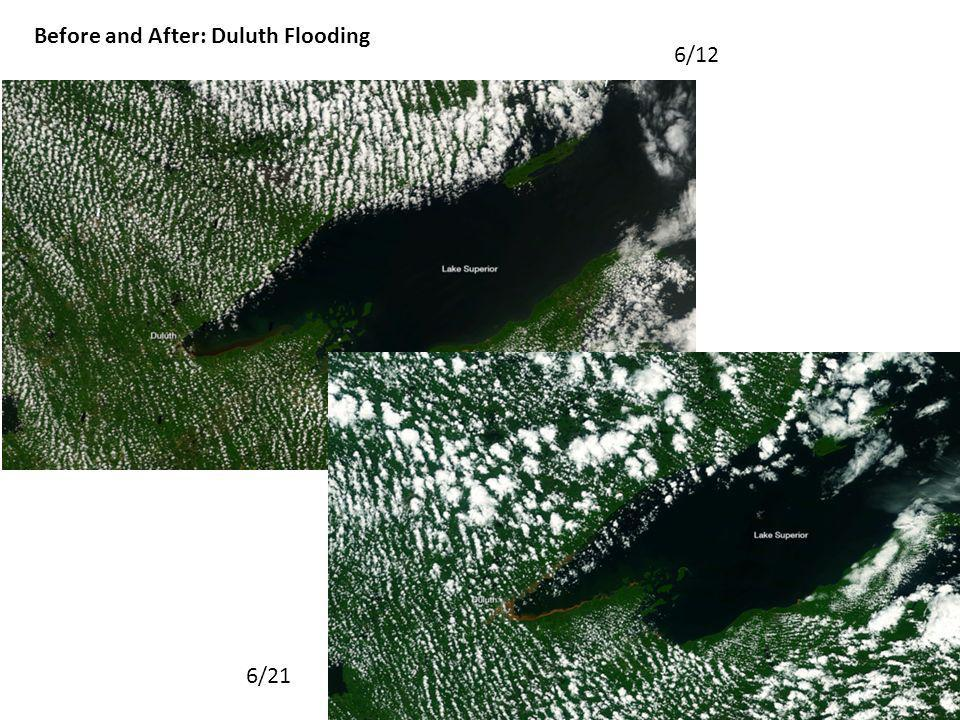 Before and After: Duluth Flooding 6/12 6/21