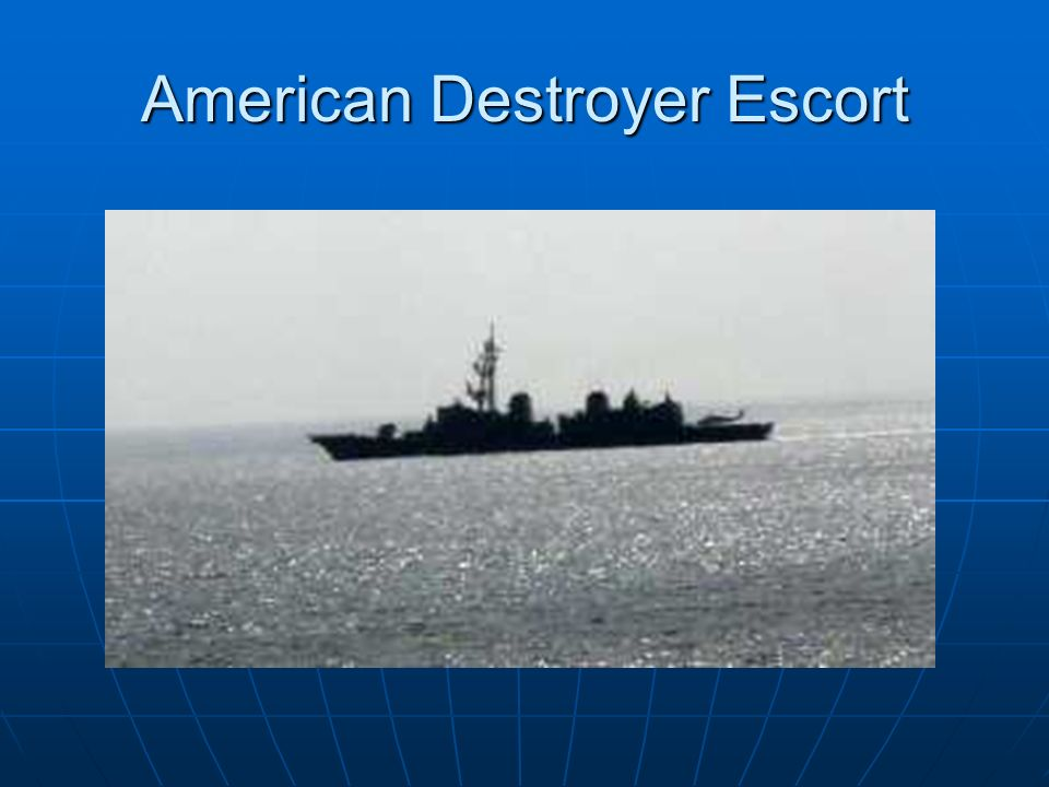 American Destroyer Escort