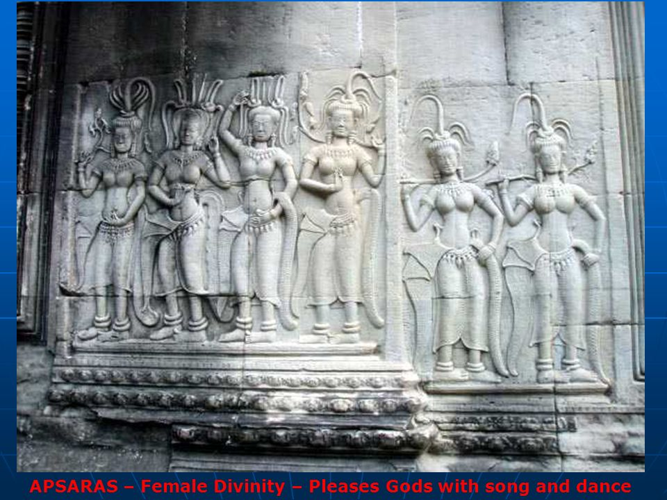 APSARAS – Female Divinity – Pleases Gods with song and dance