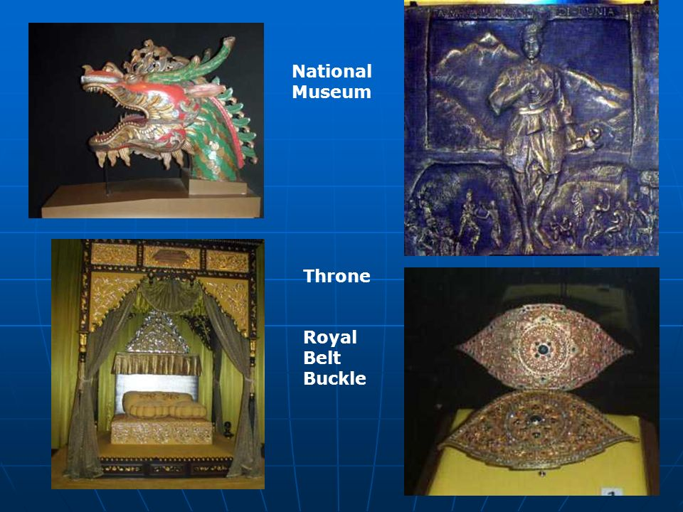 Throne Royal Belt Buckle National Museum