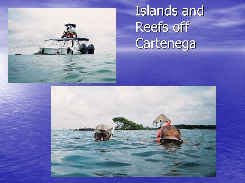 Islands and Reefs off Cartenega