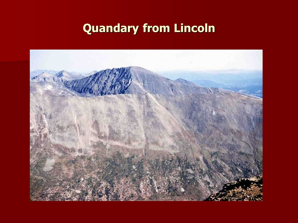 Quandary from Lincoln