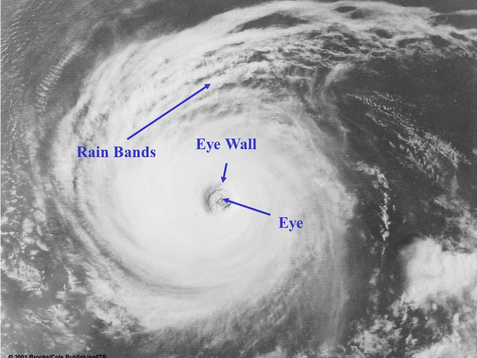 Eye Eye Wall Rain Bands