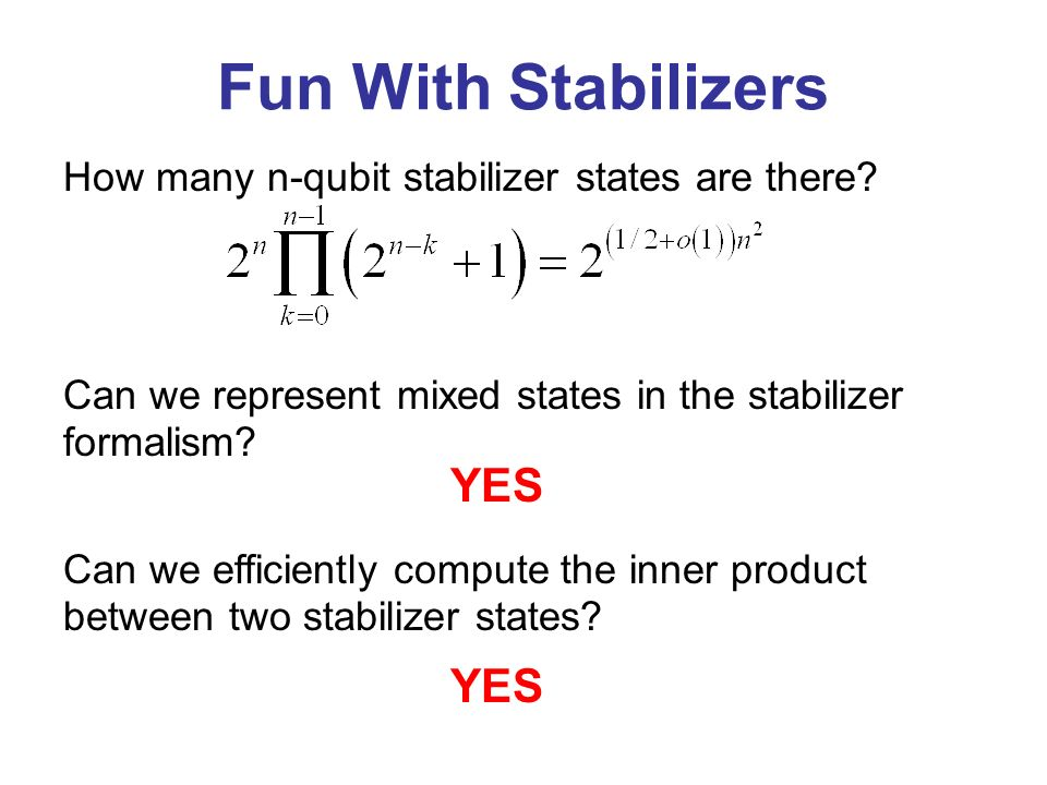 How many n-qubit stabilizer states are there.