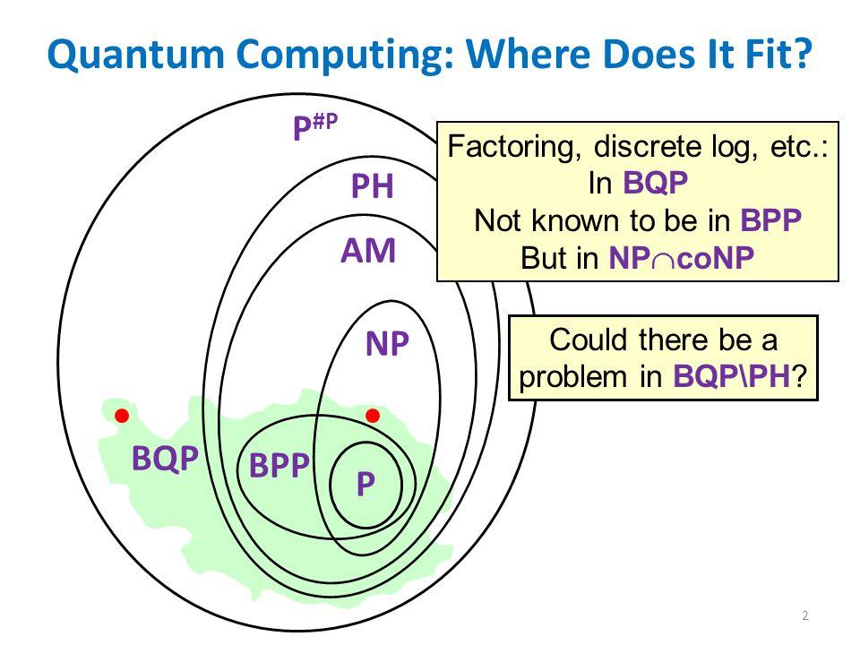 Scott Aaronson (MIT) BQP and P...