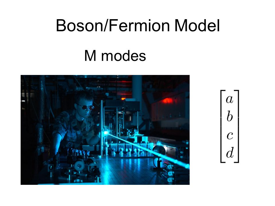 Boson/Fermion Model M modes