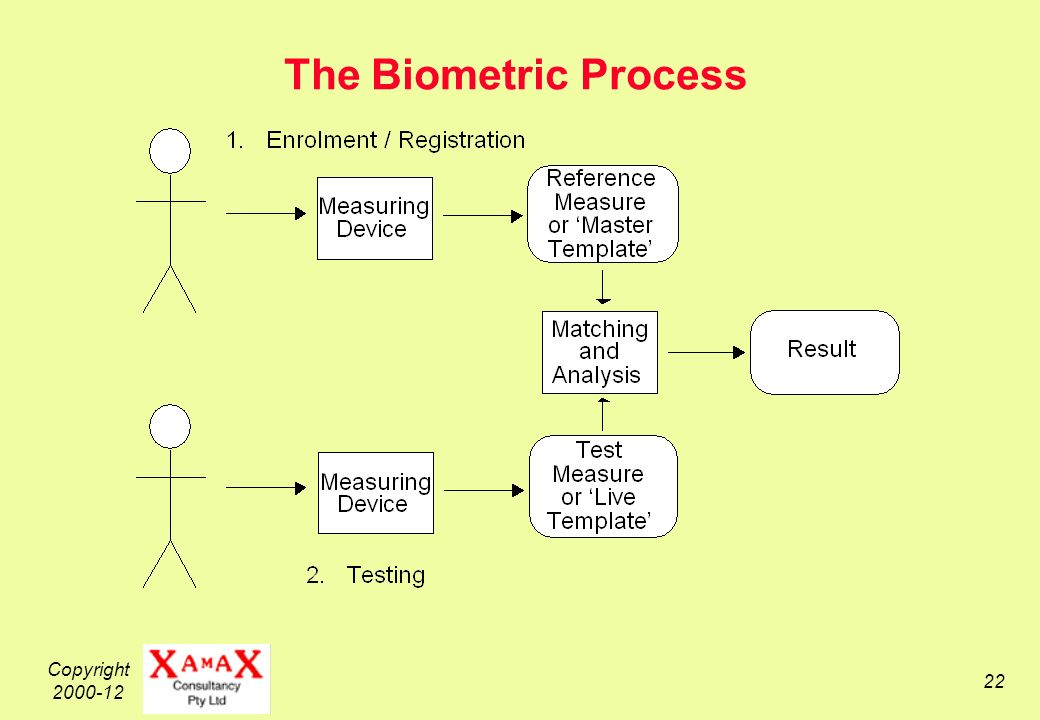 Copyright The Biometric Process
