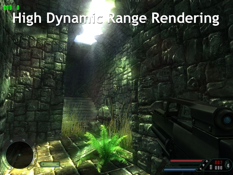 High Dynamic Range Rendering