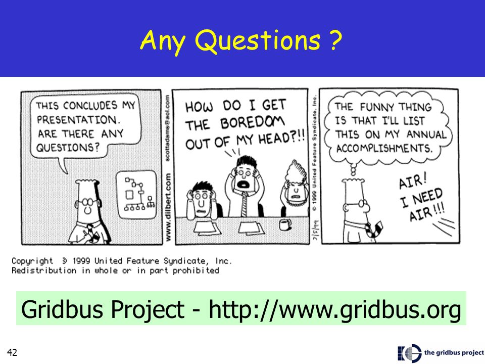 42 Any Questions Gridbus Project -