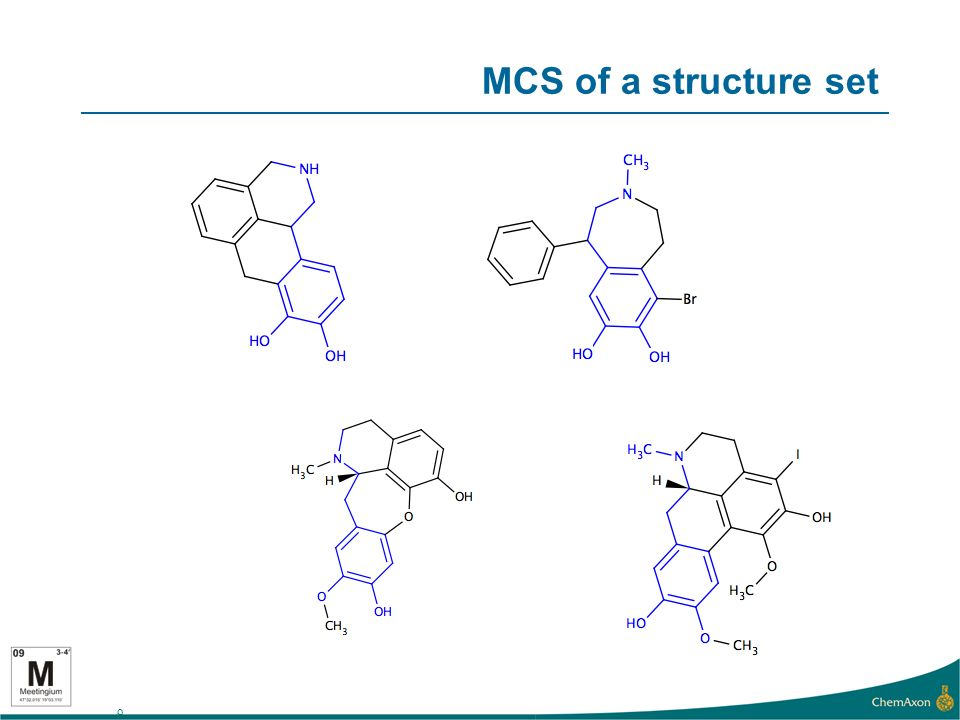 9 MCS of a structure set