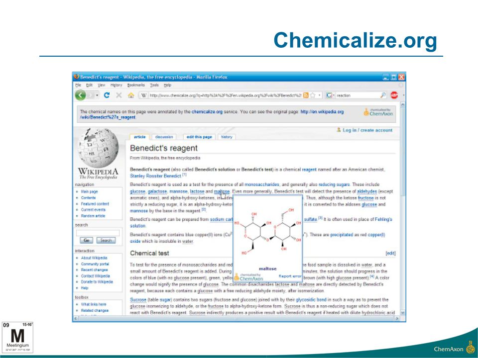 Chemicalize.org