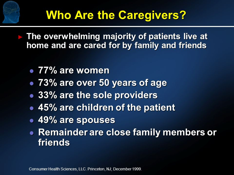 Who Are the Caregivers.