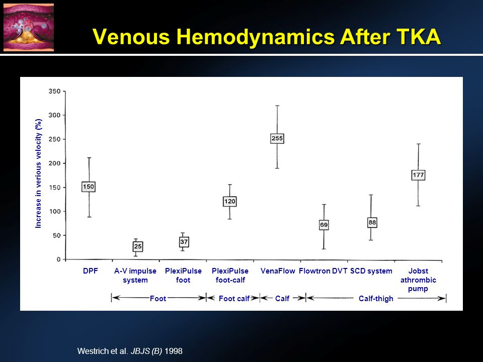 Venous Hemodynamics After TKA Westrich et al.