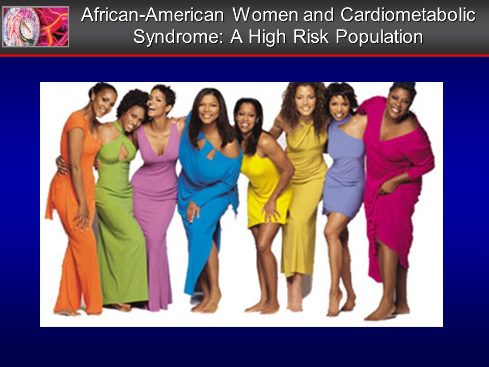 African-American Women and Cardiometabolic Syndrome: A High Risk Population