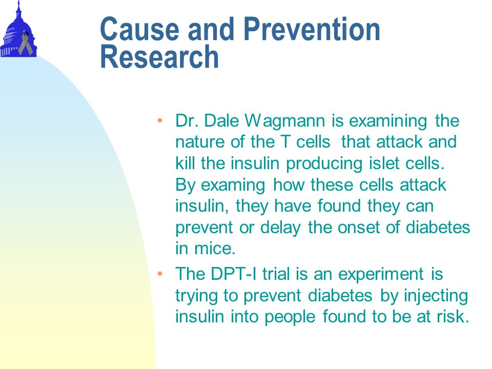 Cause and Prevention Research Dr.