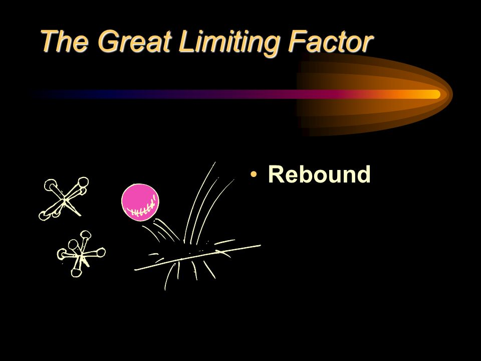 The Great Limiting Factor Rebound