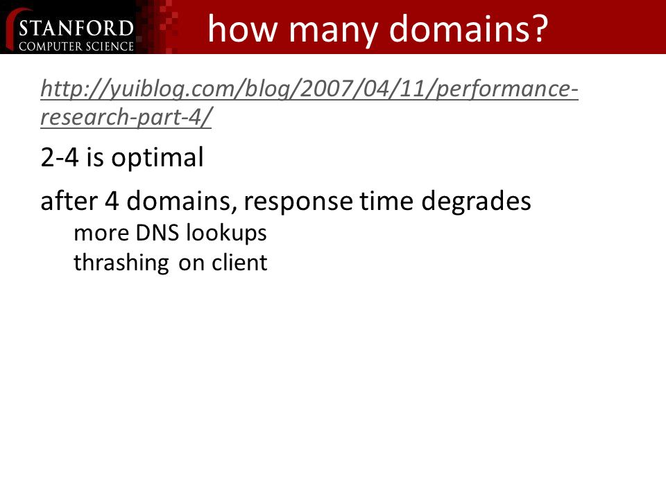 how many domains.