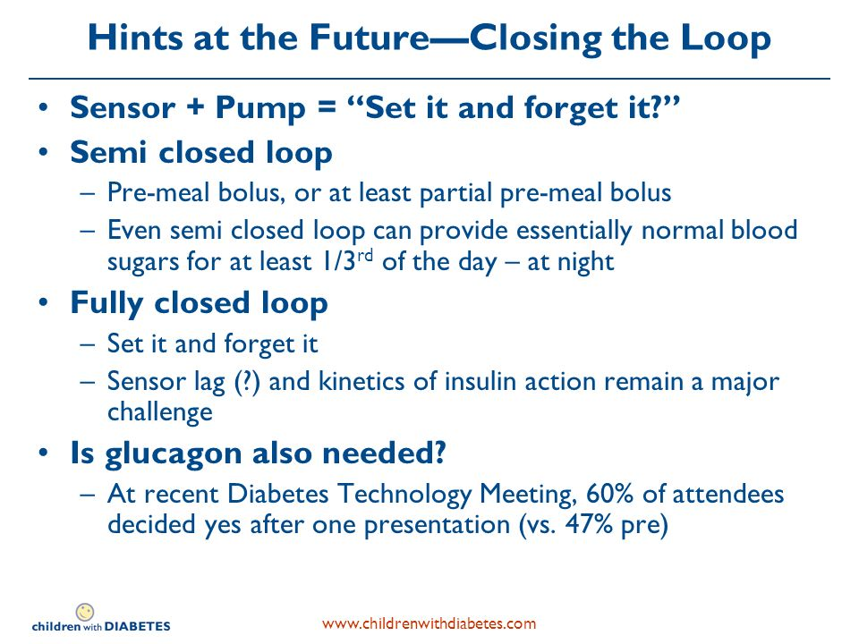 Hints at the FutureClosing the Loop Sensor + Pump = Set it and forget it.