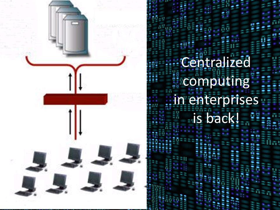 Centralized computing in enterprises is back!