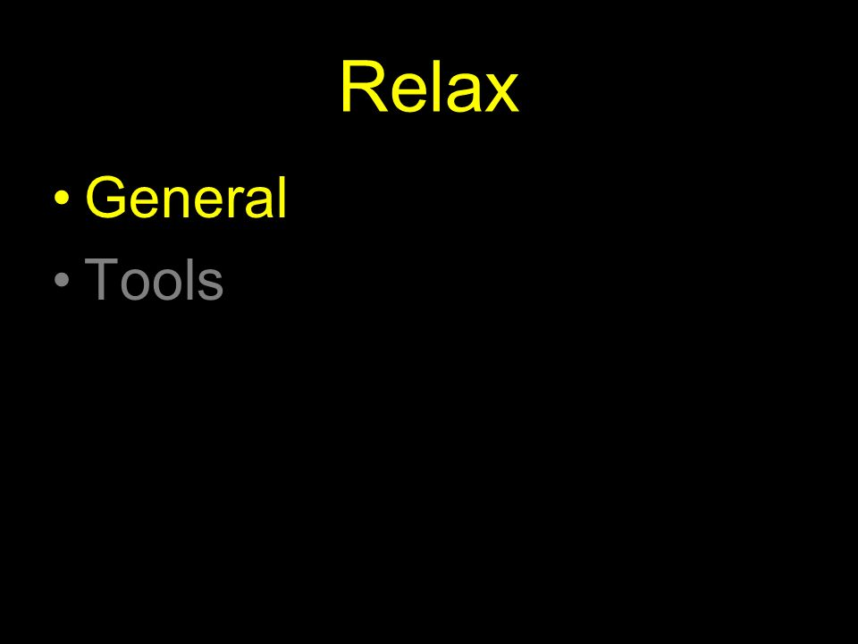 Relax General Tools