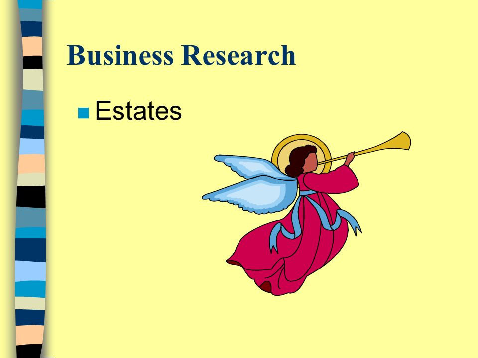 Business Research n Estates