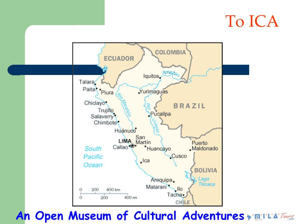 To ICA An Open Museum of Cultural Adventures