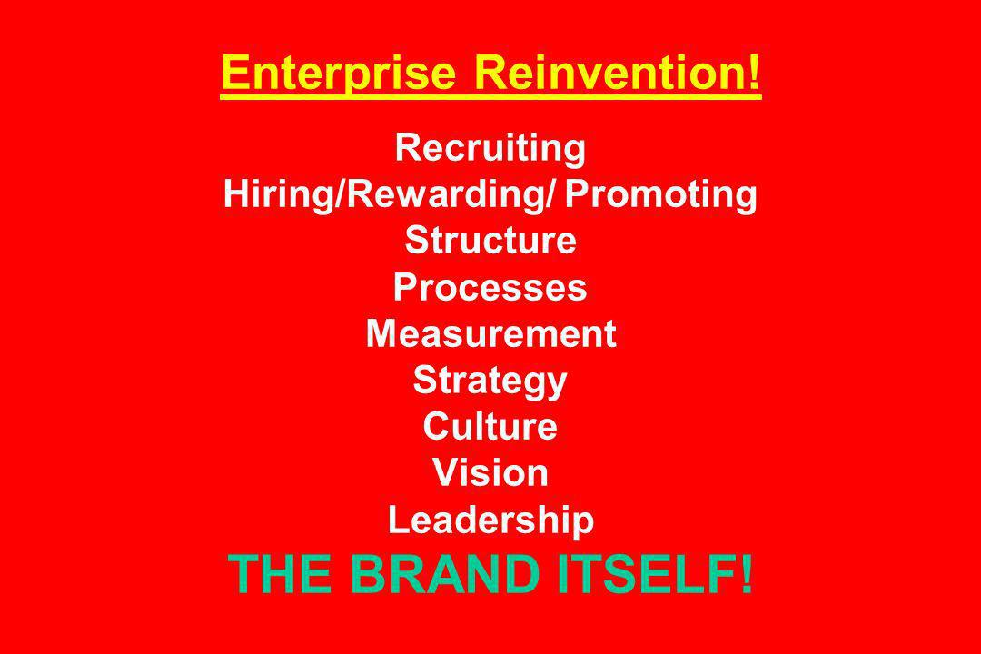 Enterprise Reinvention.