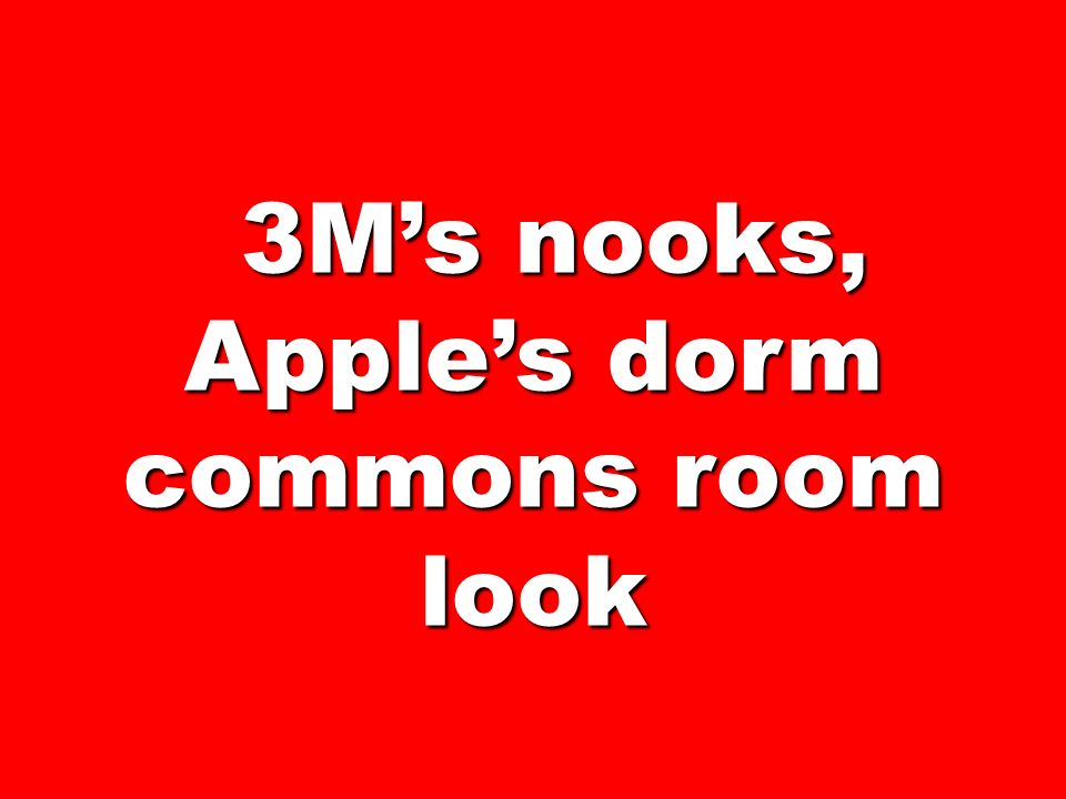 3Ms nooks, Apples dorm commons room look 3Ms nooks, Apples dorm commons room look