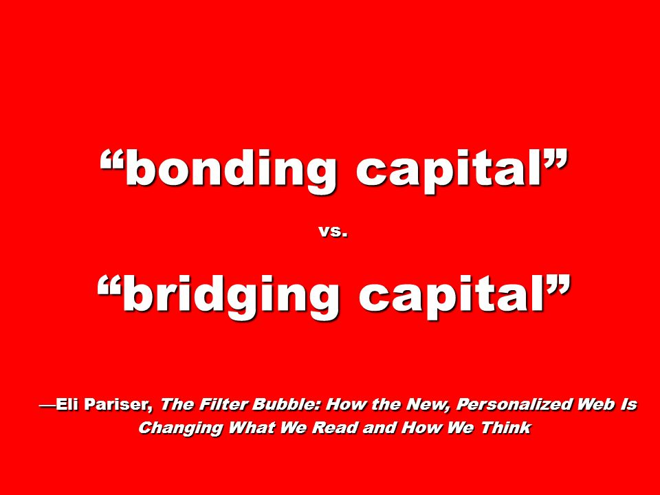 bonding capital vs.