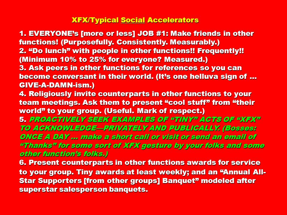 XFX/Typical Social Accelerators XFX/Typical Social Accelerators 1.