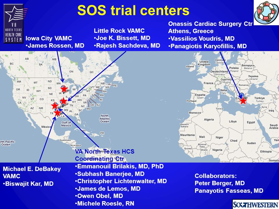 SOS: Patient flow 80 patients (112 lesions) enrolled between 2005 and 2007 in 5 clinical sites in USA and Europe Died: 1 pt Declined: 5 pts Angiographic follow-up at 12 months 33 pts 47 lesions Clinical follow-up at 24 months Angiographic follow-up at 12 months 33 pts 43 lesions BMS 39 pts 55 lesions PES 41 pts 57 lesions Died: 4 pts Emergent CABG: 1 pt Declined: 3 pts Died: 1 pt median follow-up: 18 months