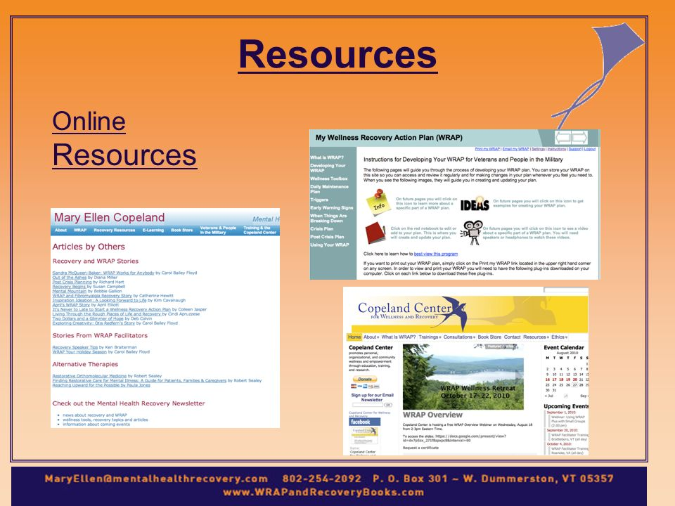 Resources Online Resources