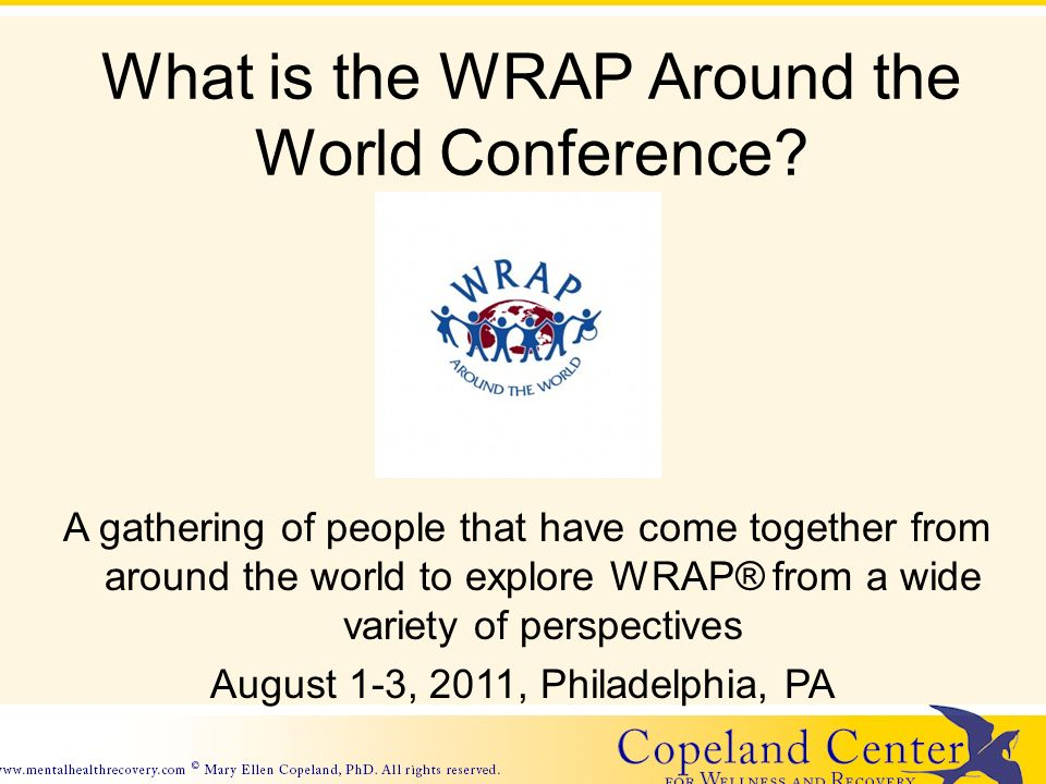 What is the WRAP Around the World Conference.