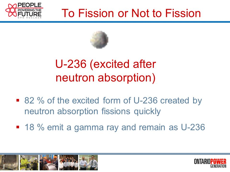 Fission Process Begins Incoming thermal (slow) Neutron U-235 atom