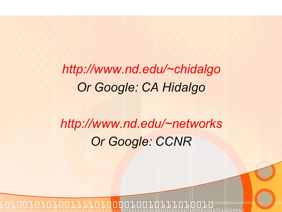 Or Google: CA Hidalgo   Or Google: CCNR