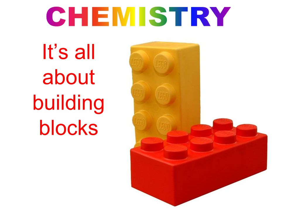 Its all about building blocks