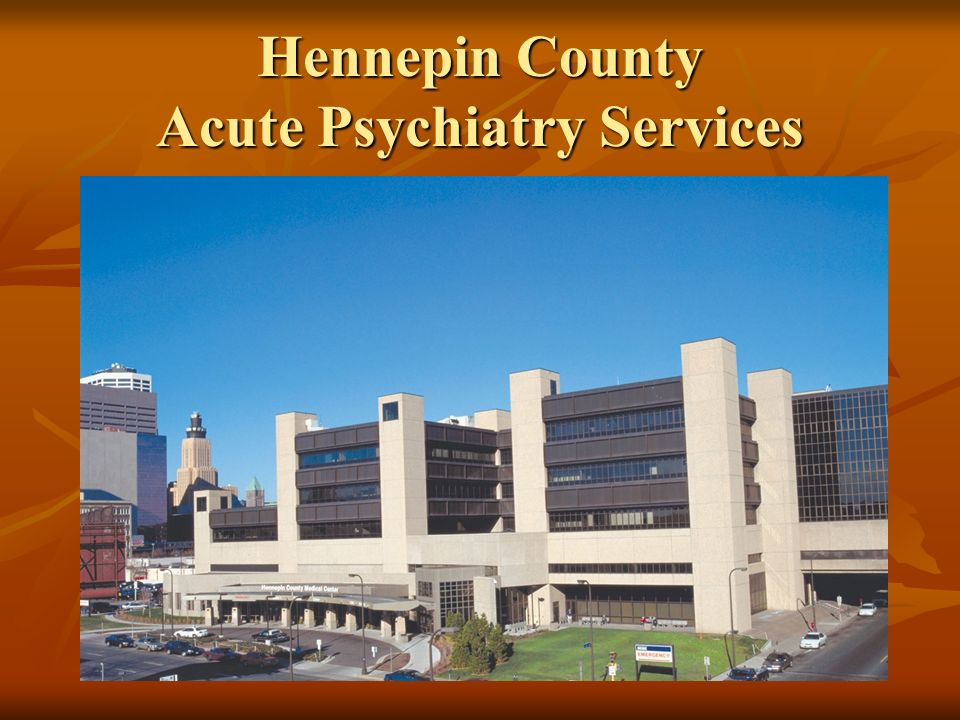 Hennepin County Acute Psychiatry Services