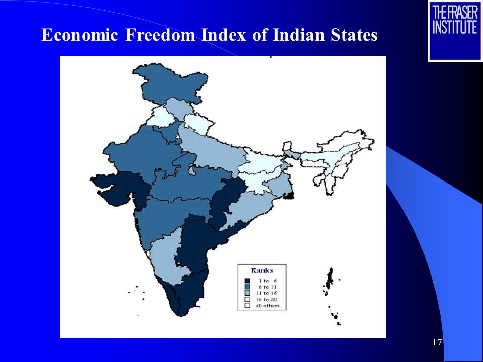 17 Economic Freedom Index of Indian States
