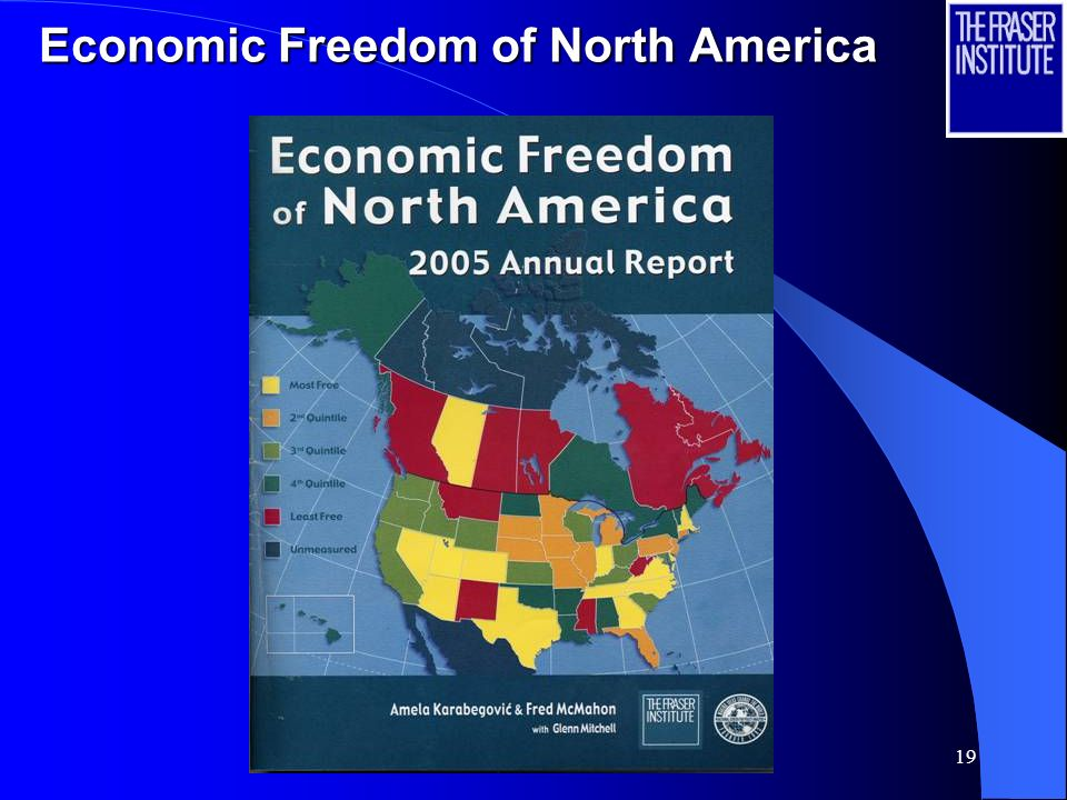 19 Economic Freedom of North America
