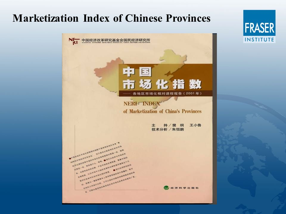 Marketization Index of Chinese Provinces