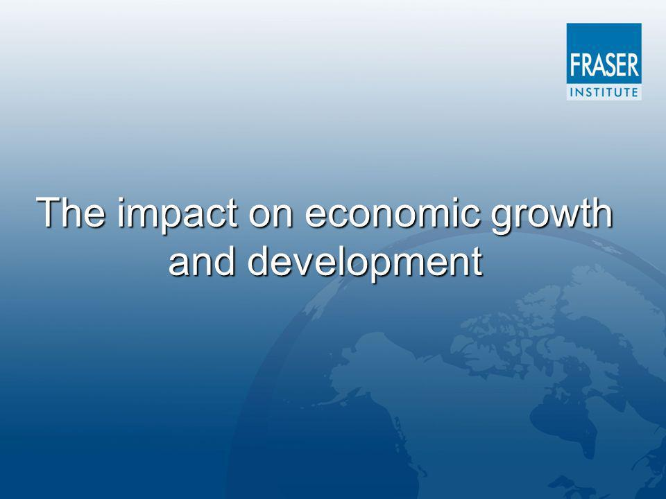The impact on economic growth and development