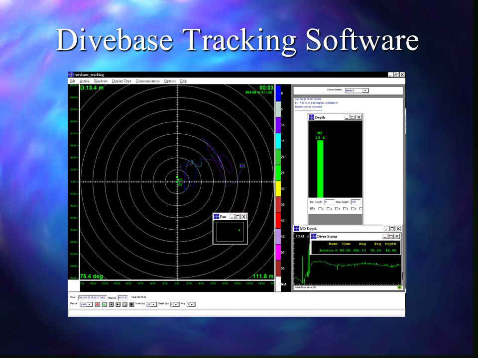 Divebase Tracking Software