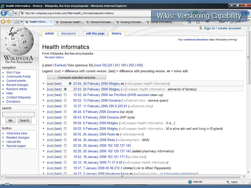 Wikis: Easy Editing
