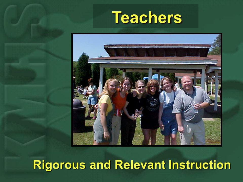 TeachersTeachers Rigorous and Relevant Instruction