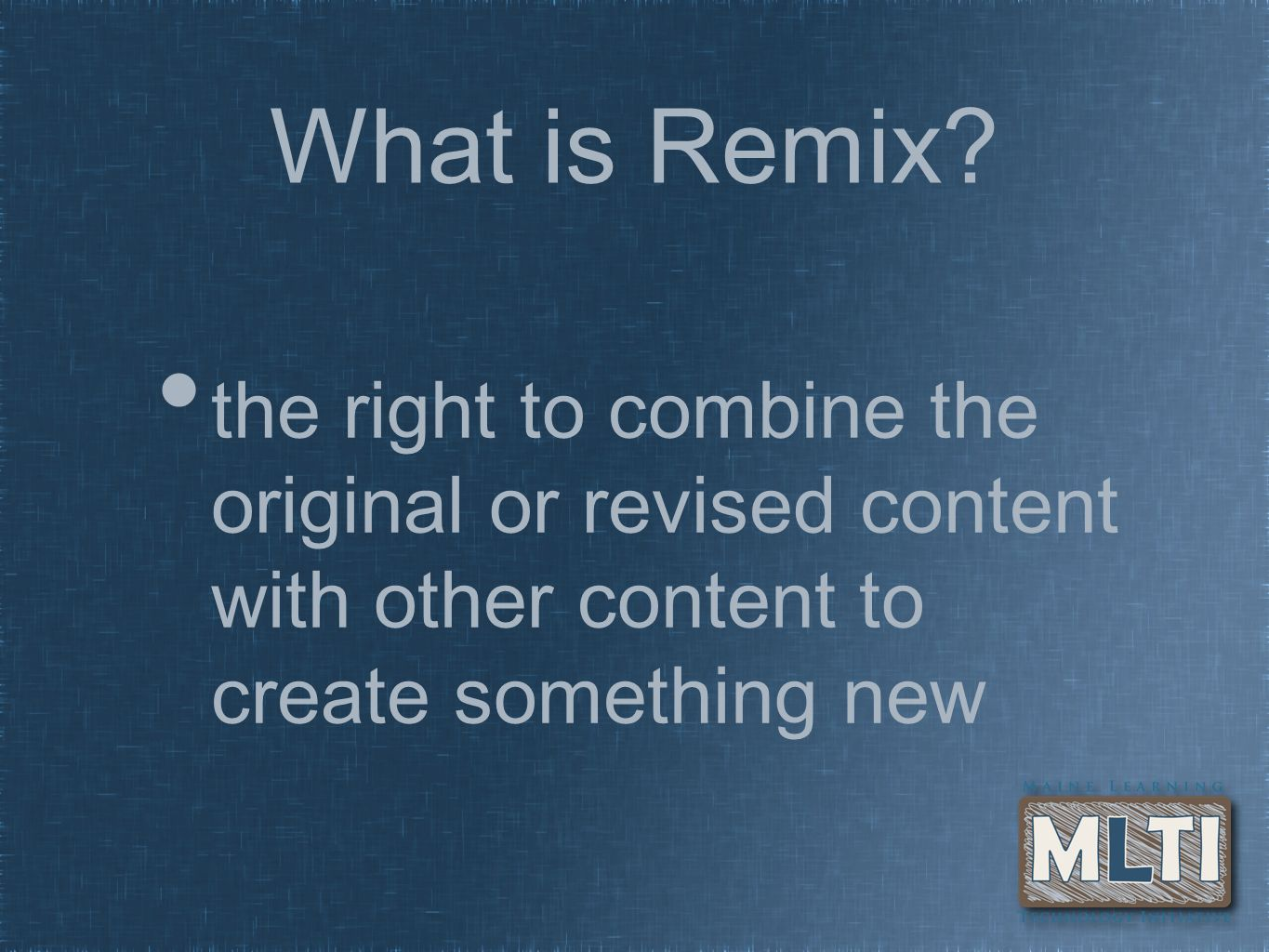 What is Remix.